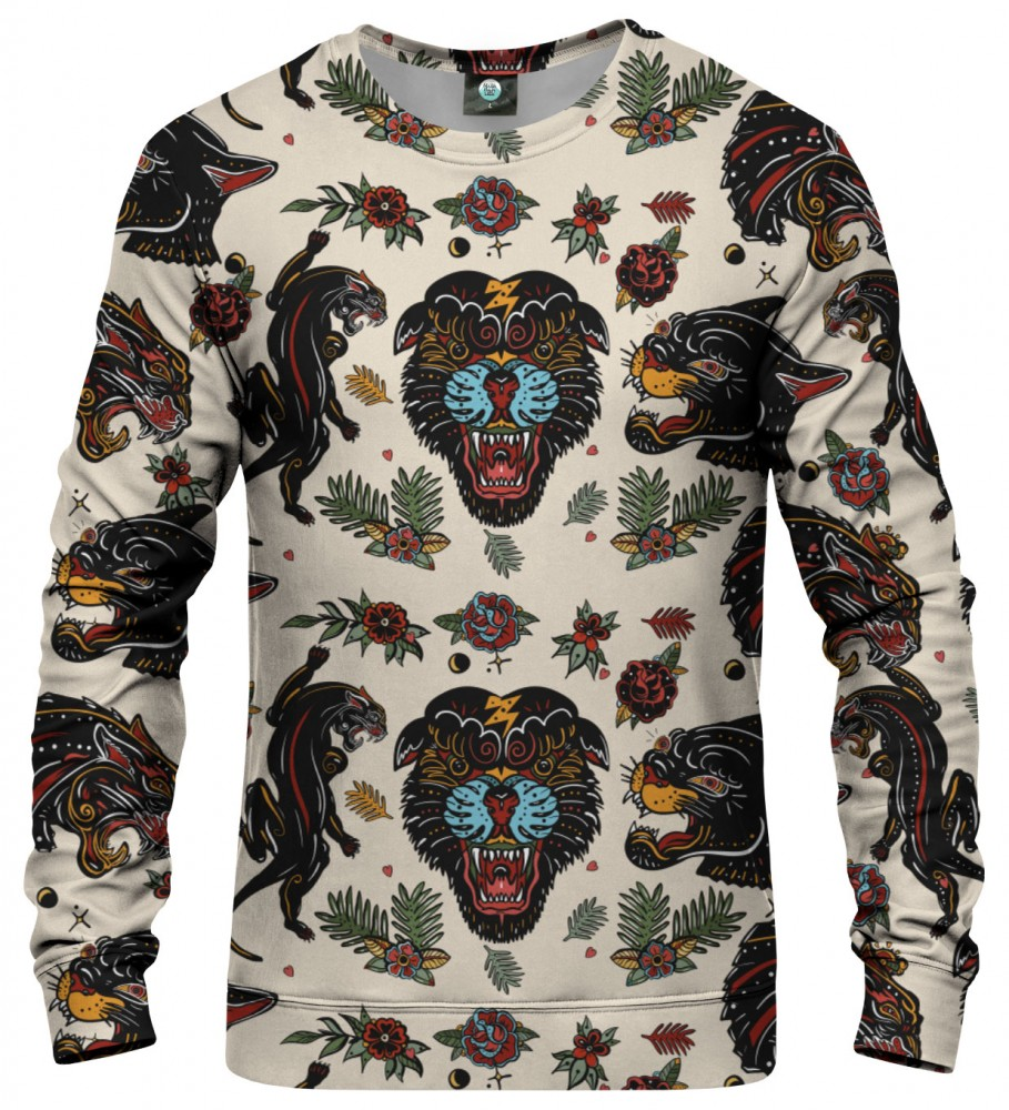 Aloha From Deer, PANTHER TRIBE SWEATSHIRT Image $i