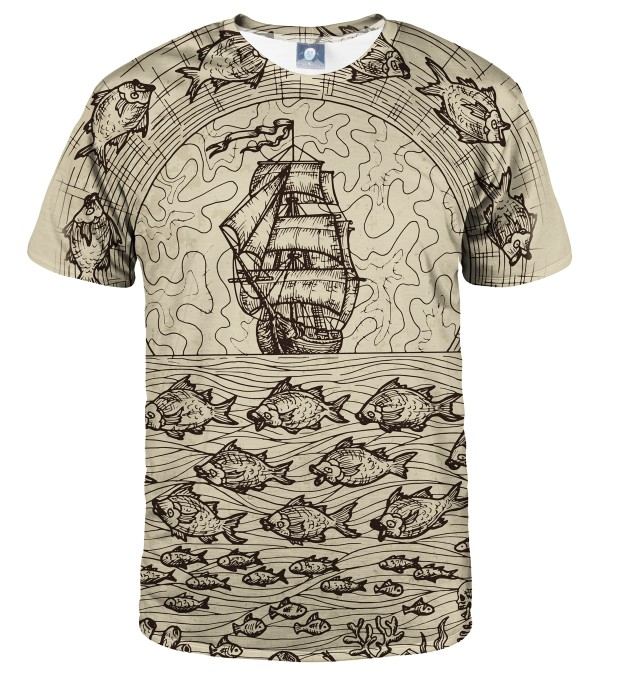 T-SHIRT SAIL AWAY Miniatury 1