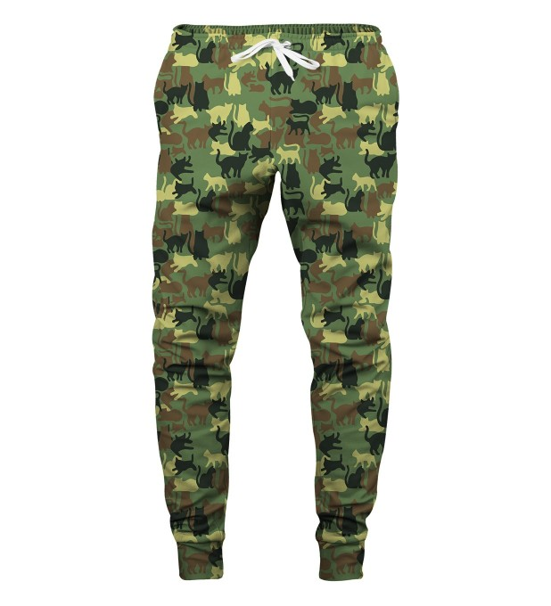 CAMO CATS SWEATPANTS Miniatury 1