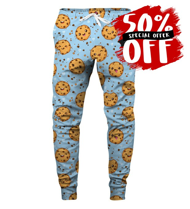 COOKIES MAKE ME HAPPY SWEATPANTS Thumbnail 1