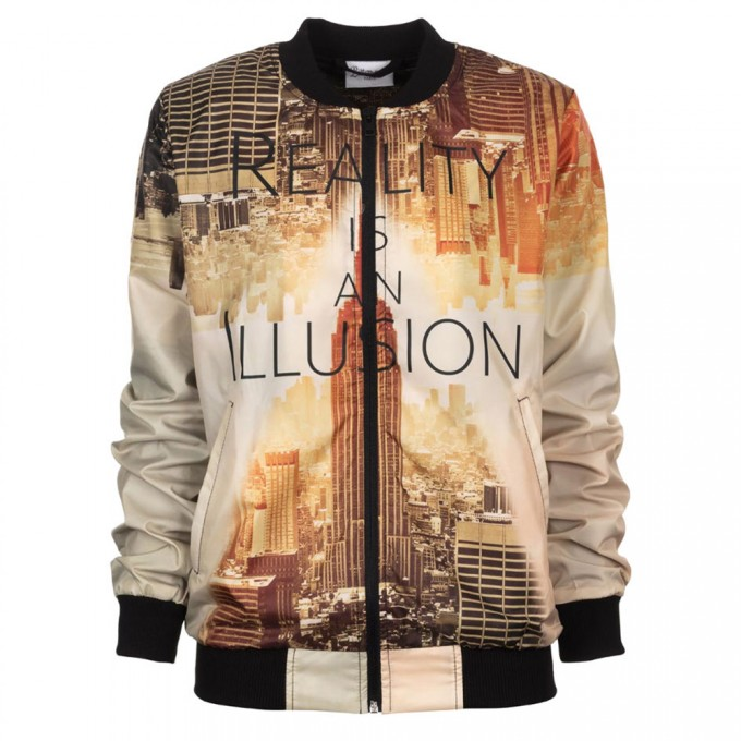 Reality bomber jacket Thumbnail 1