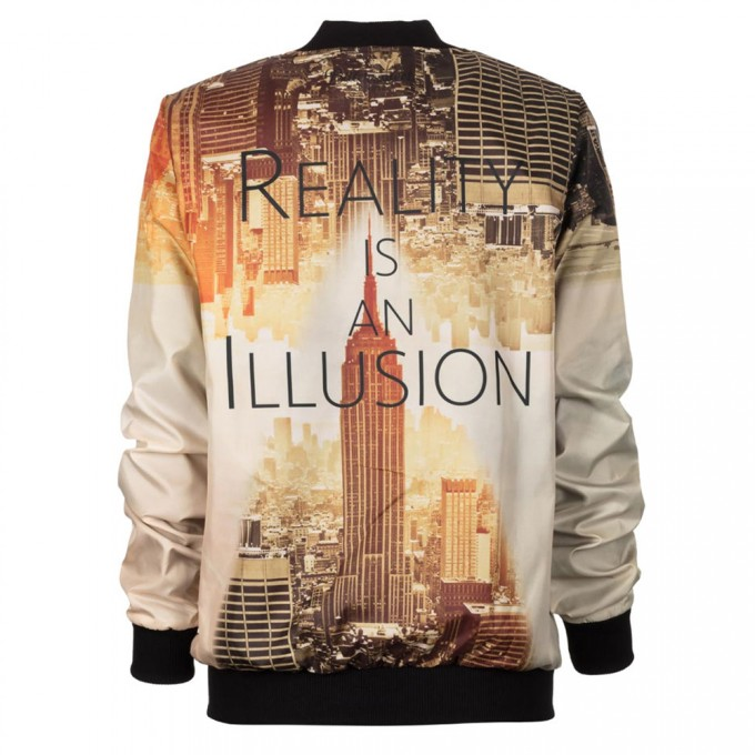 Reality bomber jacket Thumbnail 2