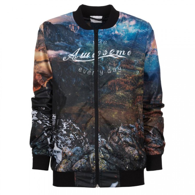 Awesome bomber jacket Miniaturbild 1