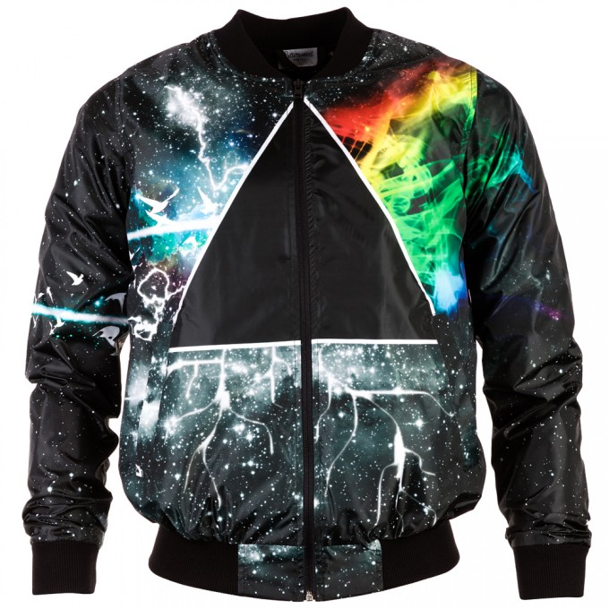 Prismatic bomber jacket Thumbnail 1