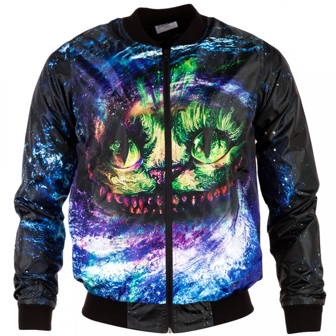 Magic Cat bomber jacket Miniaturbild 1