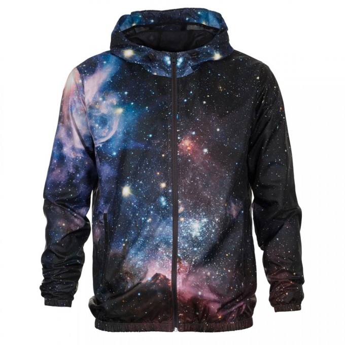 Purple Galaxy windbreaker Miniaturbild 1