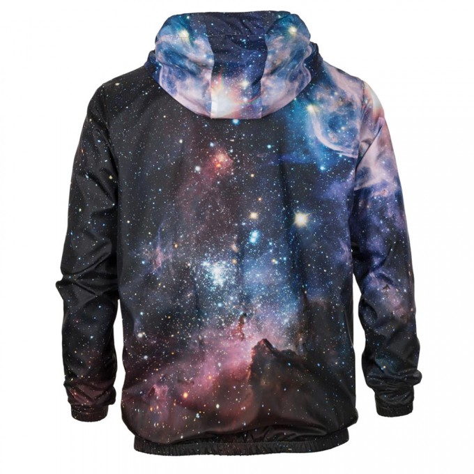 Purple Galaxy windbreaker Miniaturbild 2