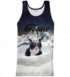 Bittersweet Paris, Cocaine Cat Tank Top Thumbnail $i