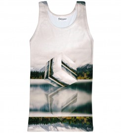Bittersweet Paris, Geometric Tank Top Thumbnail $i
