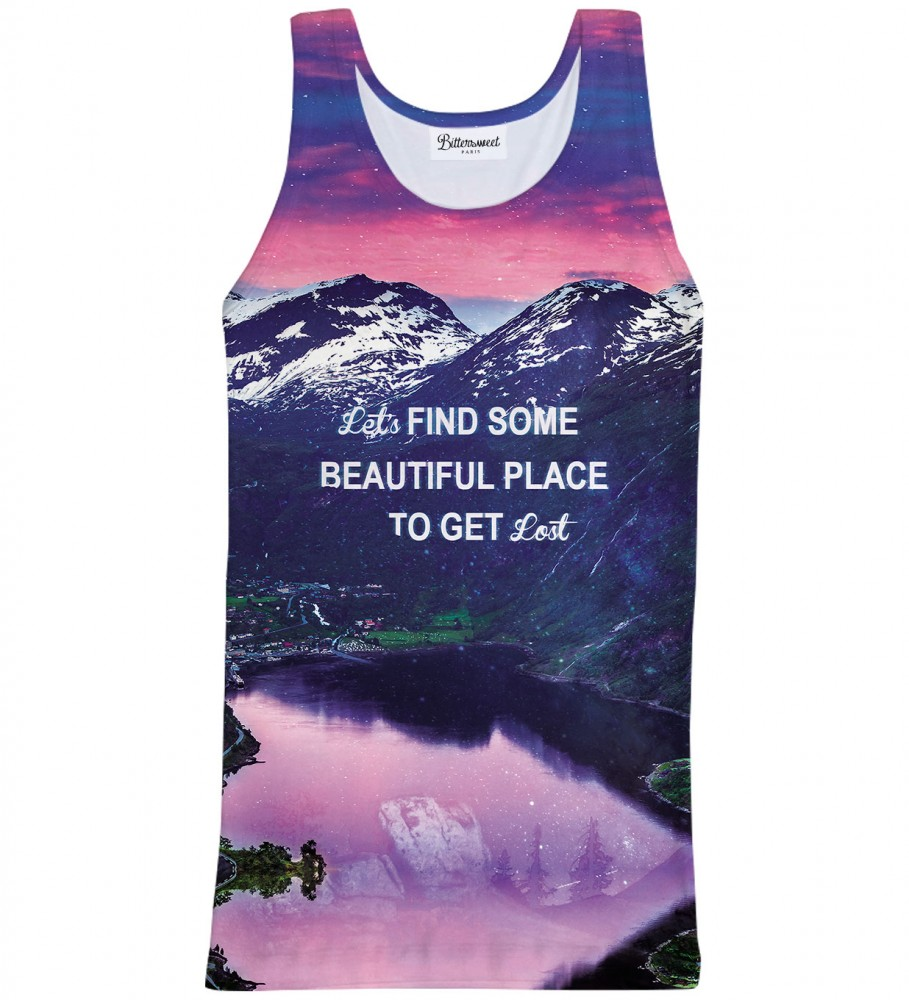 Bittersweet Paris, Get lost Tank Top Image $i