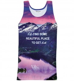 Bittersweet Paris, Get lost Tank Top Thumbnail $i