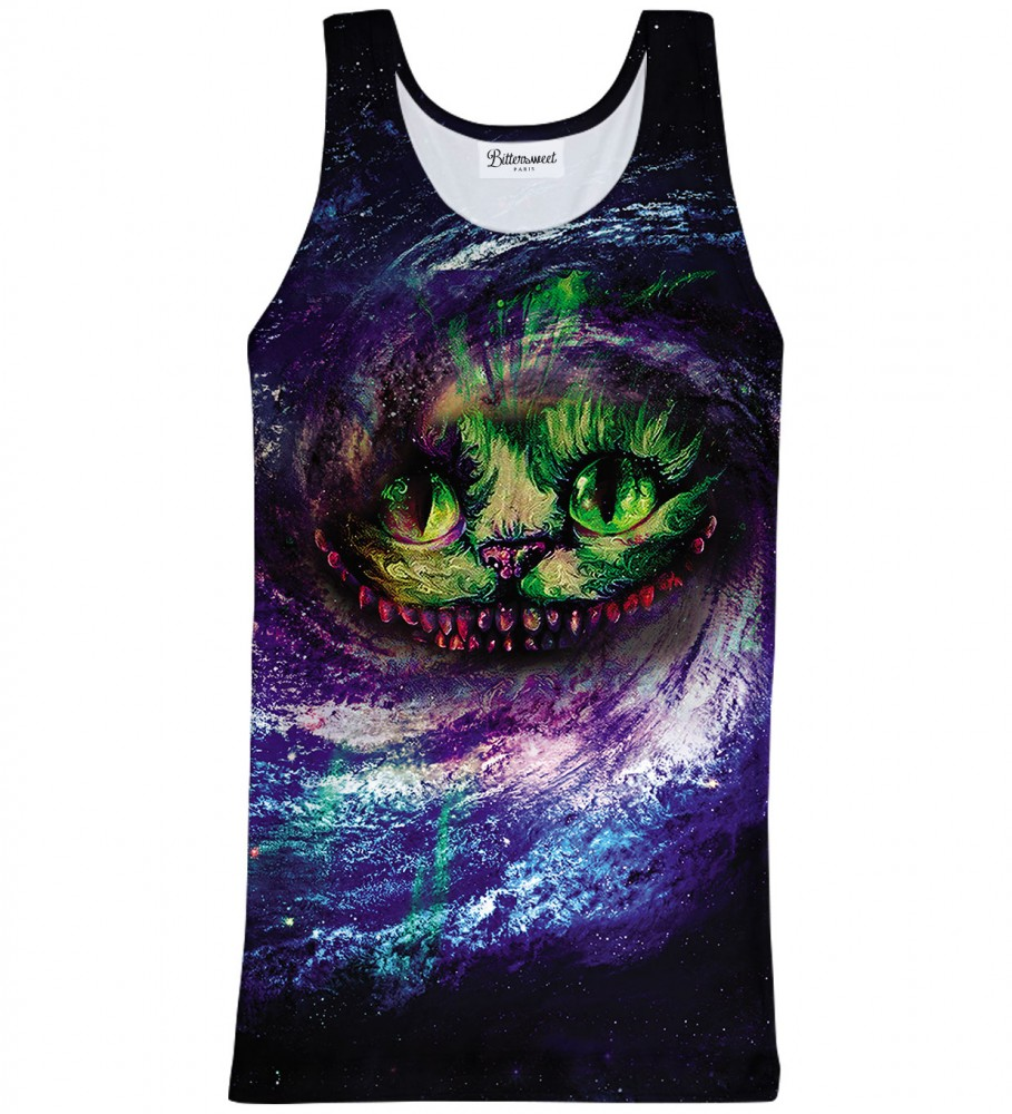Bittersweet Paris, Magic cat Tank Top Image $i
