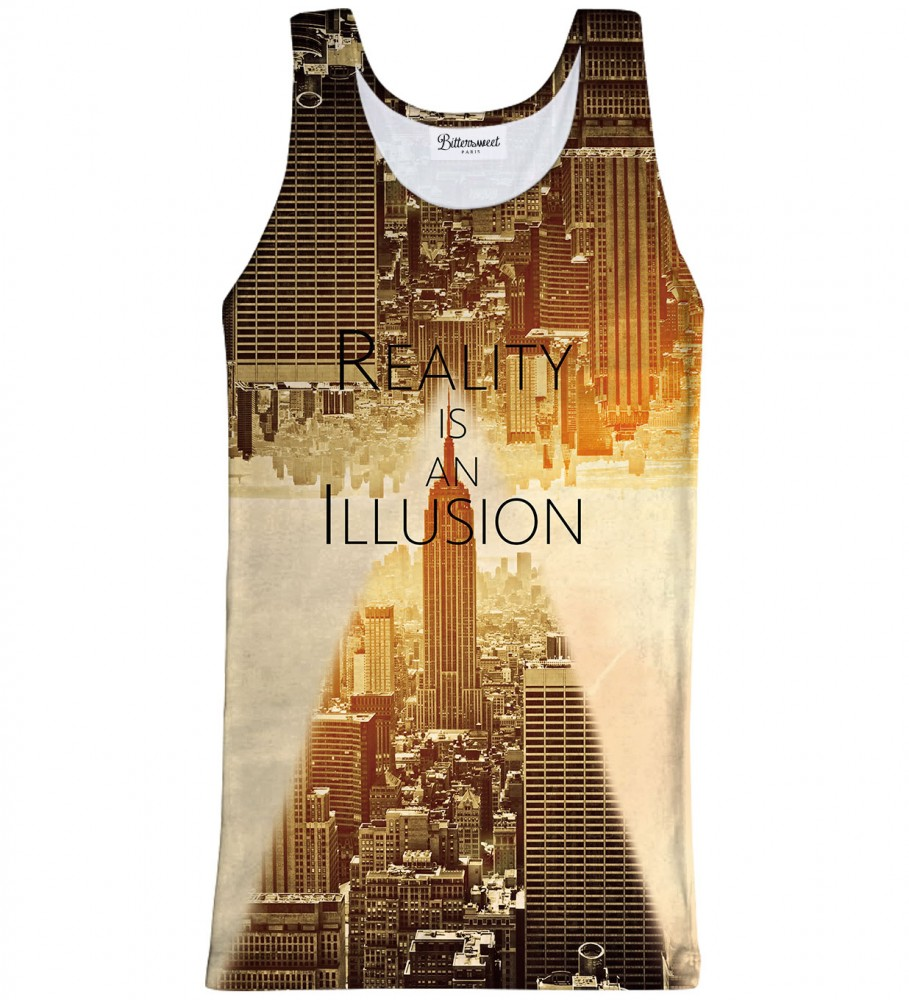 Bittersweet Paris, Reality Tank Top Image $i