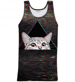 Bittersweet Paris, Technocat Tank Top Thumbnail $i