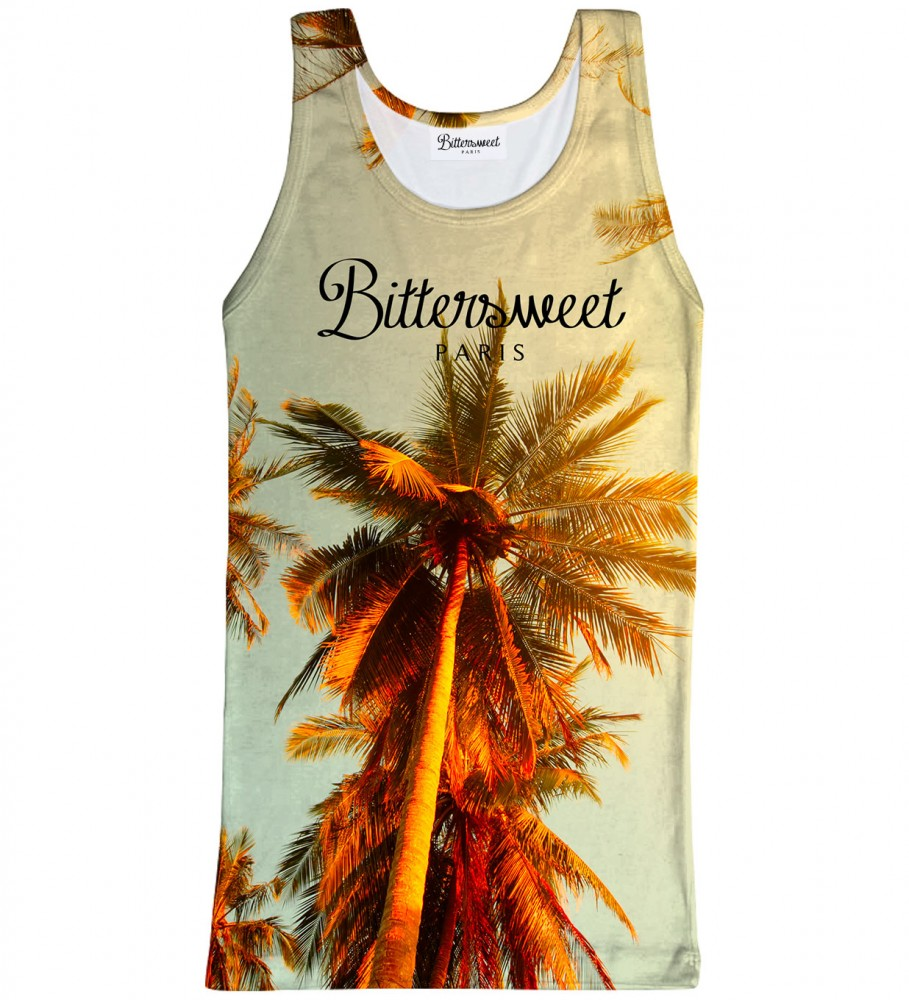 Bittersweet Paris, Tropical Tank Top Image $i