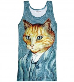 Bittersweet Paris, Van Cat Tank Top Thumbnail $i