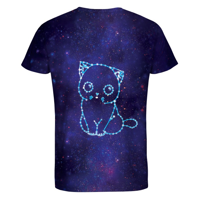 Galaxy Cat t-shirt Thumbnail 2