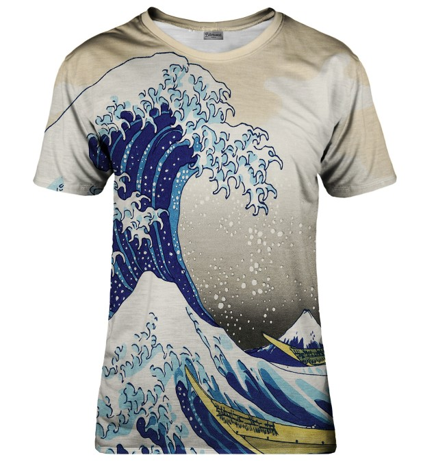 Great Wave t-shirt Miniaturbild 1