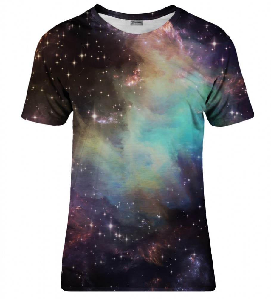 Bittersweet Paris, Galaxy clouds t-shirt Foto $i