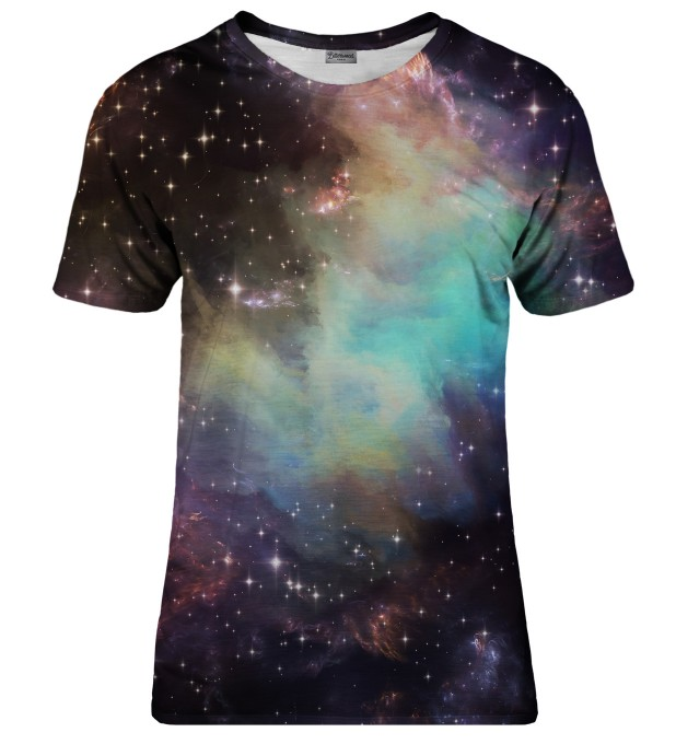 Galaxy clouds t-shirt Miniaturbild 1