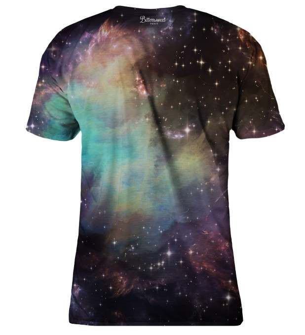 Galaxy clouds t-shirt Miniaturbild 2