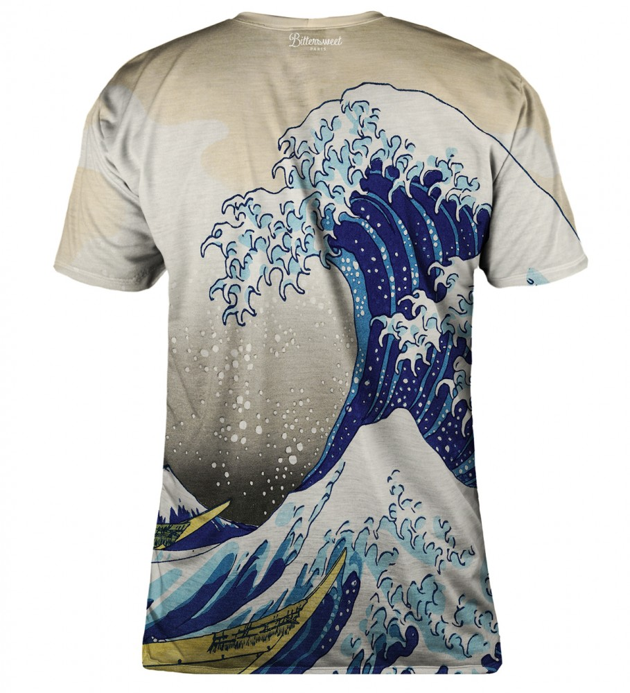 Bittersweet Paris, Great Wave t-shirt Image $i