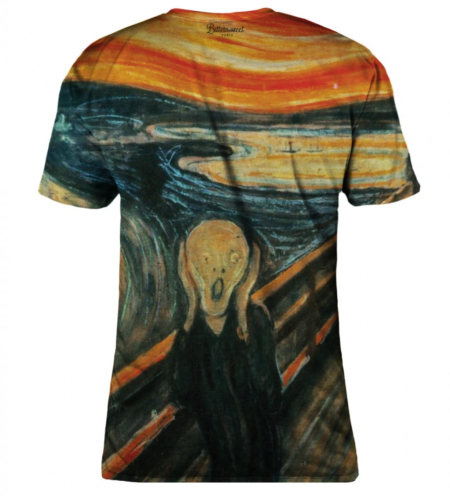 Bittersweet Paris, The Scream t-shirt Foto $i