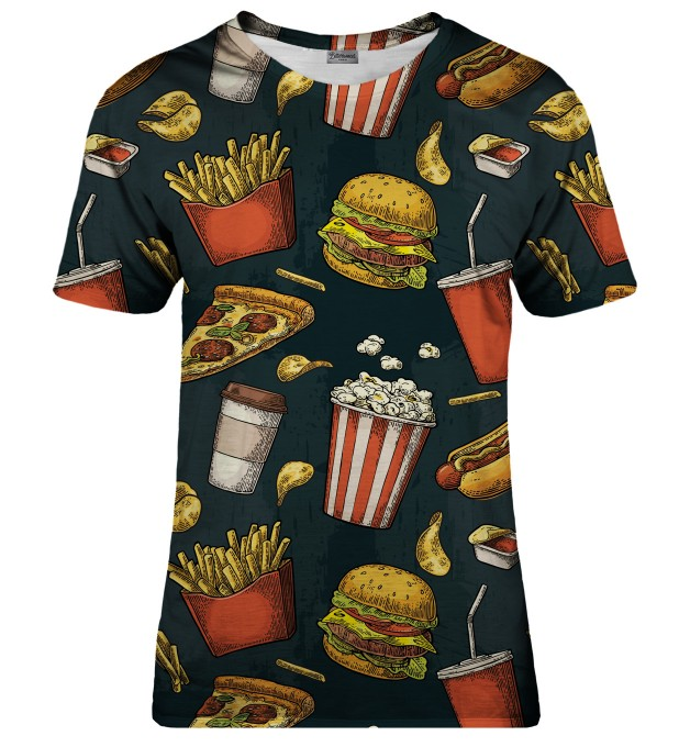 Fast Food t-shirt Thumbnail 1