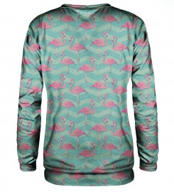 Bittersweet Paris, Flamingo sweatshirt Thumbnail $i