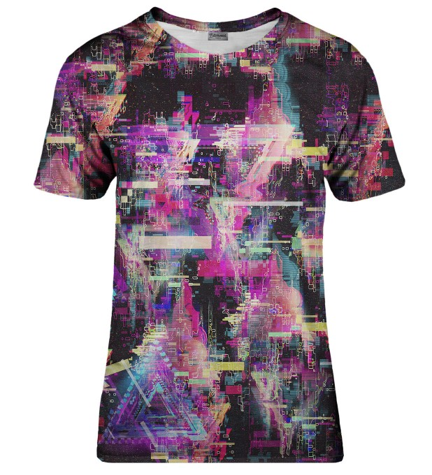 Total Glitch t-shirt Miniaturbild 1
