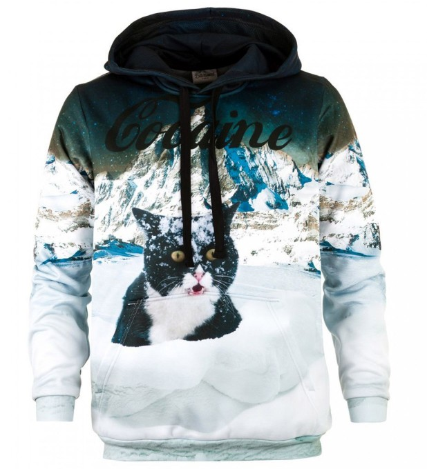 Cocaine Cat hoodie Thumbnail 2