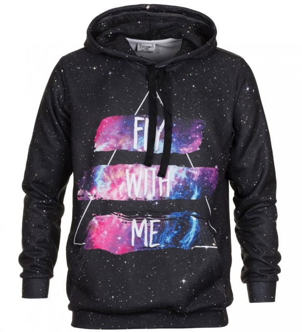 Fly with me hoodie Thumbnail 2
