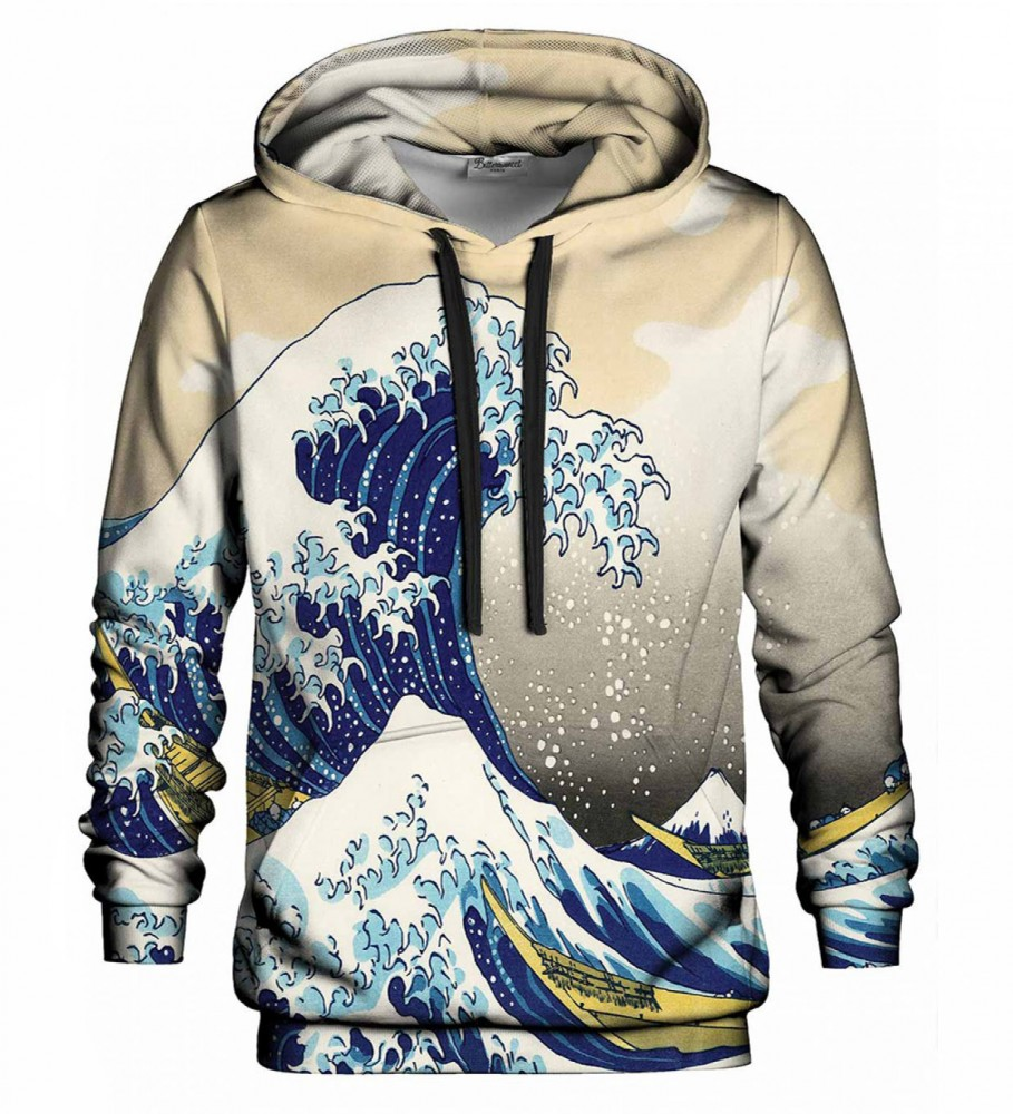 Bittersweet Paris, Great Wave hoodie Image $i