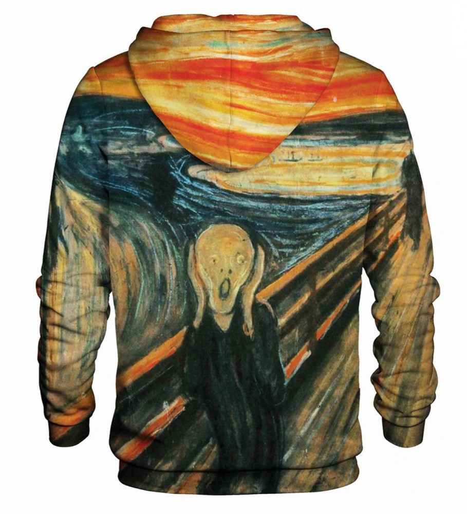 Bittersweet Paris, The Scream hoodie Image $i