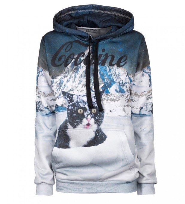 Cocaine Cat hoodie Thumbnail 1
