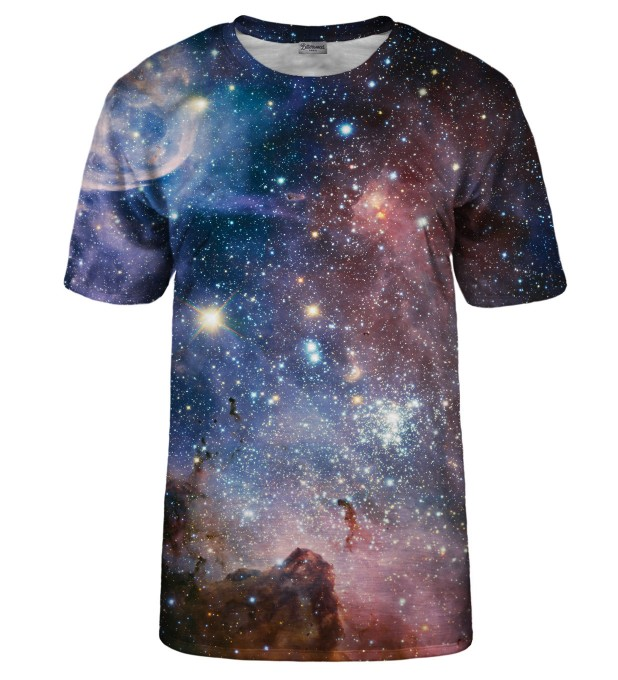 Purple Galaxy t-shirt Miniaturbild 2