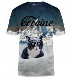 Bittersweet Paris, Cocaine Cat t-shirt Miniaturbild $i