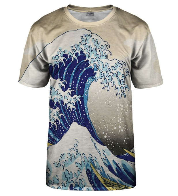 Great waves t-shirt Thumbnail 1
