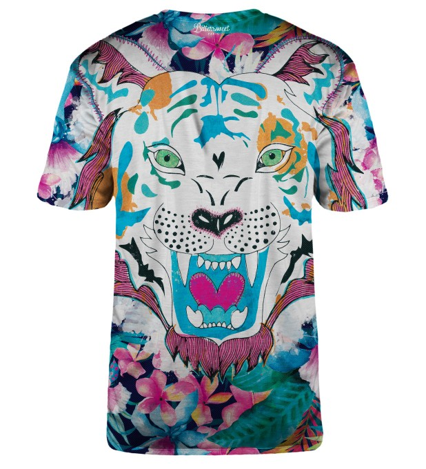 Flower tiger t-shirt Miniaturbild 2
