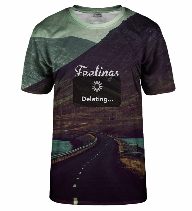 Feelings deleting t-shirt Thumbnail 1