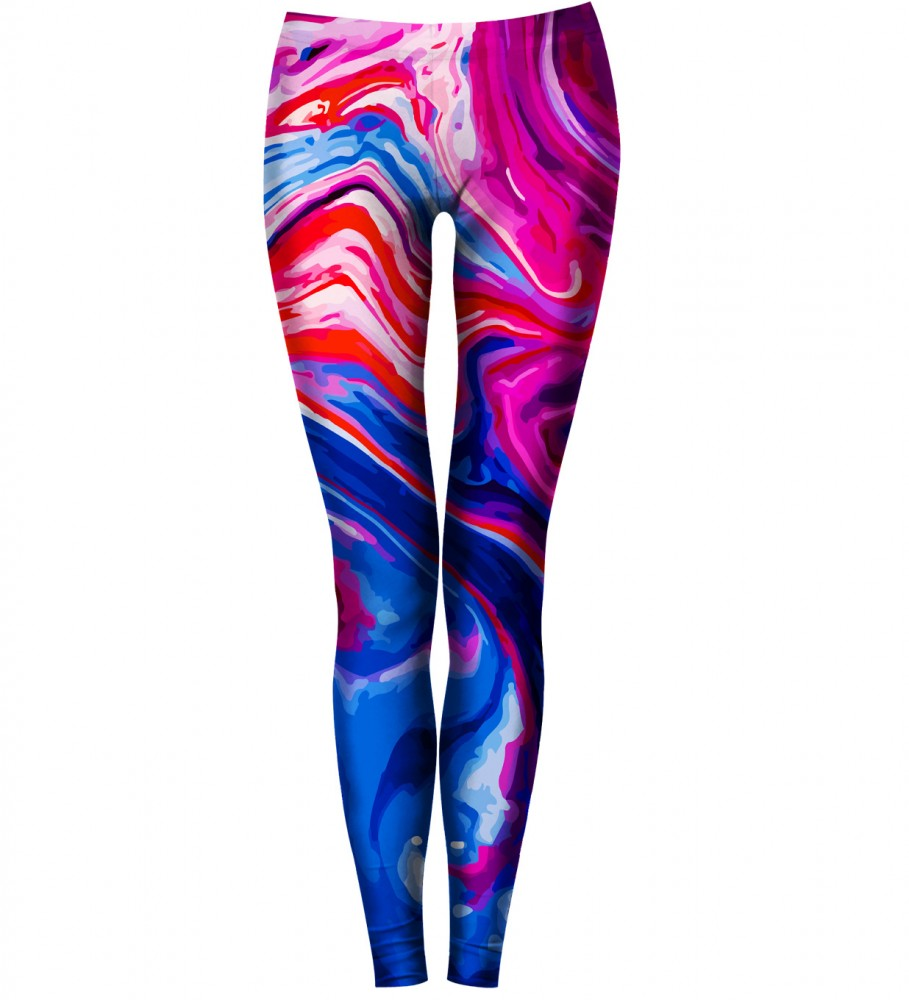 Bittersweet Paris, Painting Leggings Image $i