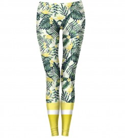 Bittersweet Paris, Yellow Nature Leggings Thumbnail $i
