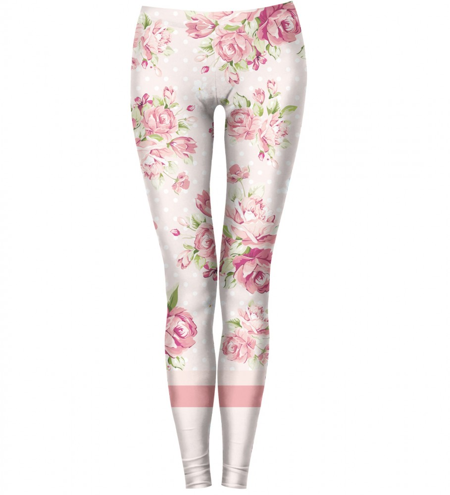Bittersweet Paris, Pink Love Leggings Image $i