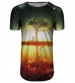 Bittersweet Paris, Tree longline t-shirt Thumbnail $i