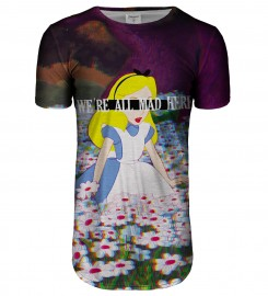 Bittersweet Paris, Mad Alice longline t-shirt Thumbnail $i