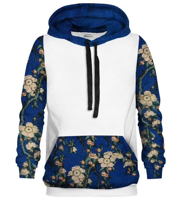 Weeping cherry cotton hoodie Thumbnail 1
