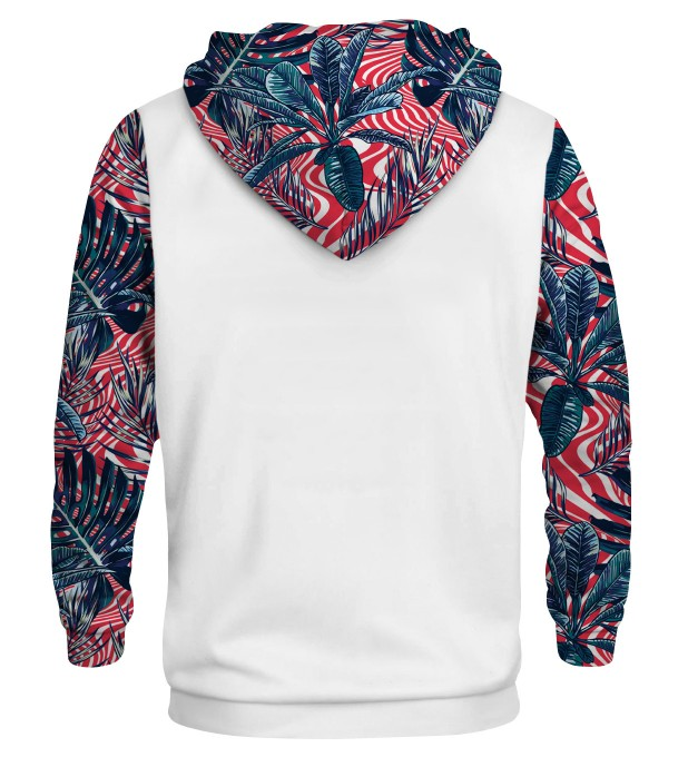Abstract Flowers cotton hoodie Thumbnail 2