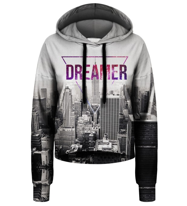 Dreamer cropped hoodie Thumbnail 1