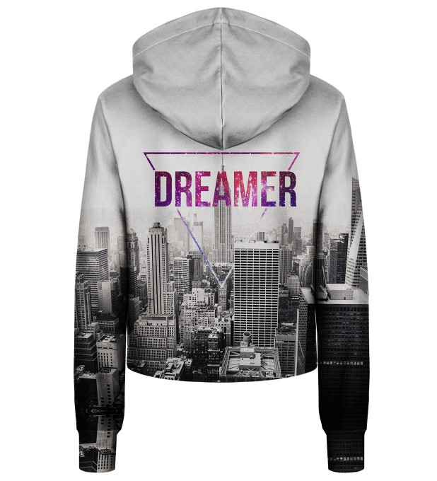 Dreamer cropped hoodie Thumbnail 2