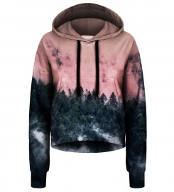 Bittersweet Paris, Forest cropped hoodie Thumbnail $i